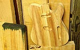 Florida Cypress Crackercaster T Wood Stock